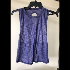 Lululemon cropped top with back detail